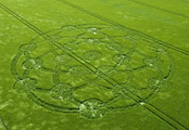 Crop circles Wroughton Wiltshire