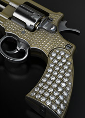 Very luxury Swiss mini revolver