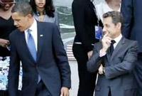 Obama and Sarkozy are checking out a 16 year-old girl
