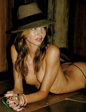 Miranda Kerr Nude photos behind the scene