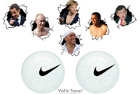 Start voting! Who have the biggest balls!? T-shirt for the winner!!!