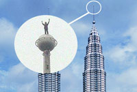 Alain Robert - Petronas Towers