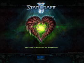 Starcraft always on my overmind wallpaper