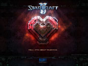 Starcraft its about valentine wallpaper